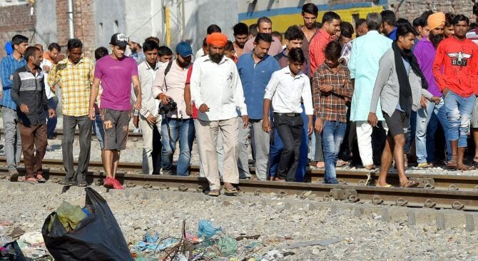 Train Services Resume Partially in Amritsar, Protesters Booked