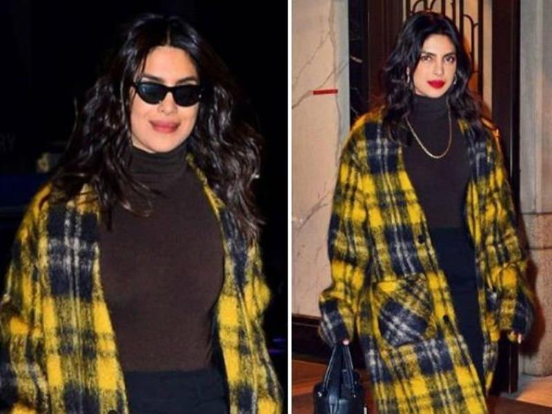 Priyanka Chopras Over Sized Coat Which Costs More Than 1.5 Lakhs