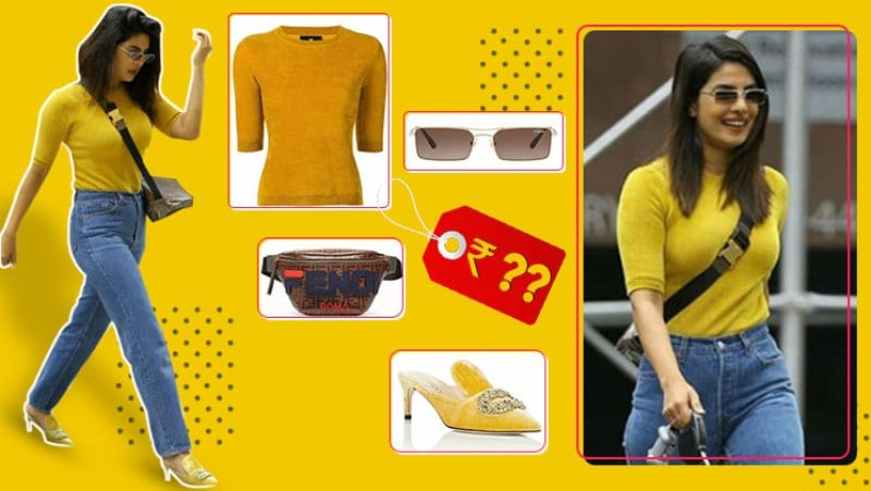 Yellow Sweater And Blue Denim of Priyanka Chopra, A Very Far Fetched Dream!