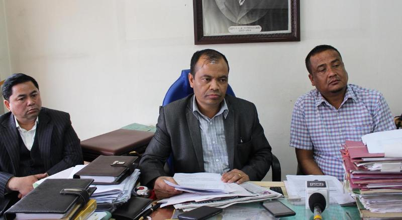 CWC Will Resolve Issues: PDF chief Pynshngain N Syiem
