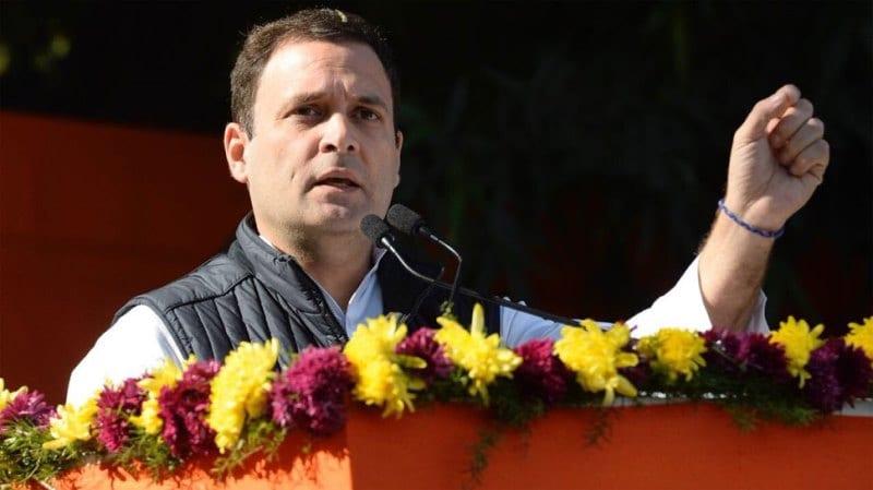 Rahul Gandhi slips again: Mixes up Mizoram as Manipur