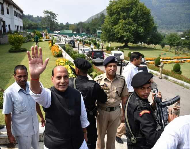 Union Home Minister Rajnath Singh appeals to Kashmiris