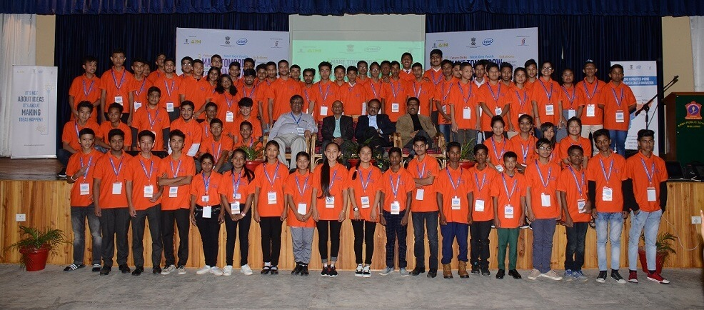 Rapid prototyping camp at Army Public School Shillong concludes