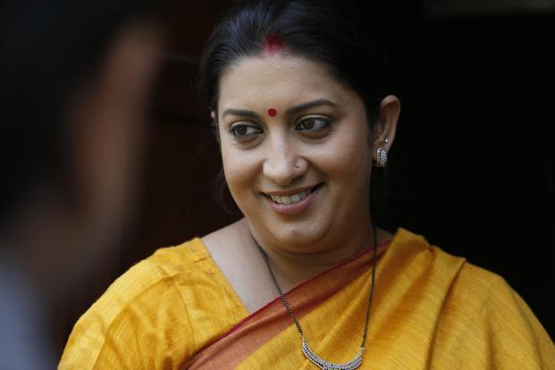 Smriti Irani Promises to Help in the Growth of Manipur Textile Industry