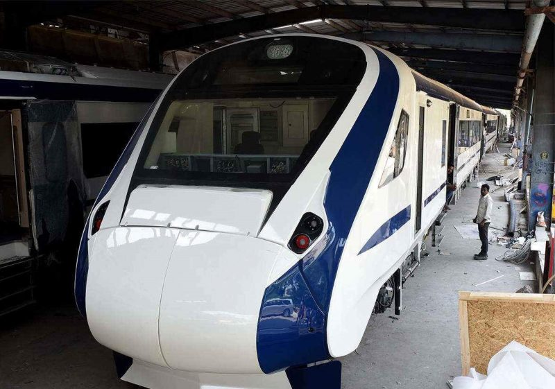 Special Team to Ensure Speedy Trials of First Indigenously-Build Train-18 Trainset