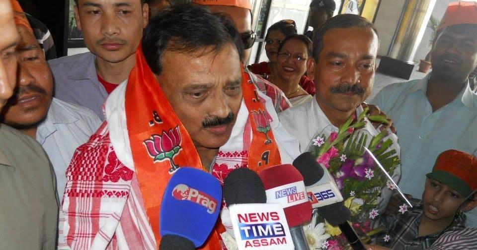 Ready to contest in Lok Sabha poll: Tezpur MP R P Sharma