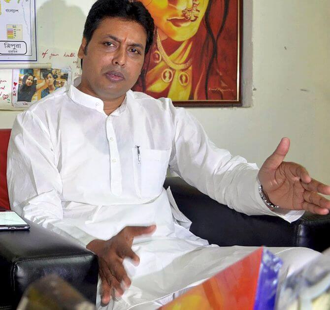 Tripura CM, BJP leaders  to campaign in Mizoram