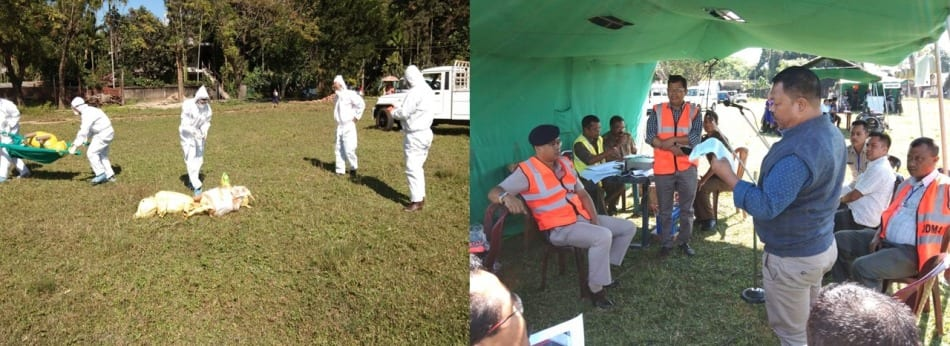 East Garo Hills conducts Multi-state mock exercise on Earthquake