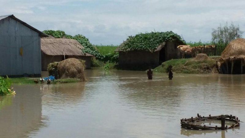 Floods Situation Still Grim In Assam