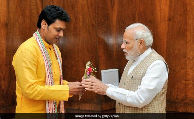 Laxmi Puja: Prayers in Tripura for Modi Governments Good Sense in Releasing Funds