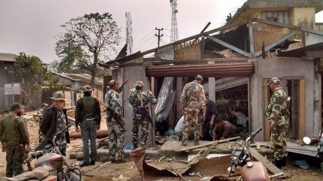Low Intensity Blast in Williamnagar, Shillong