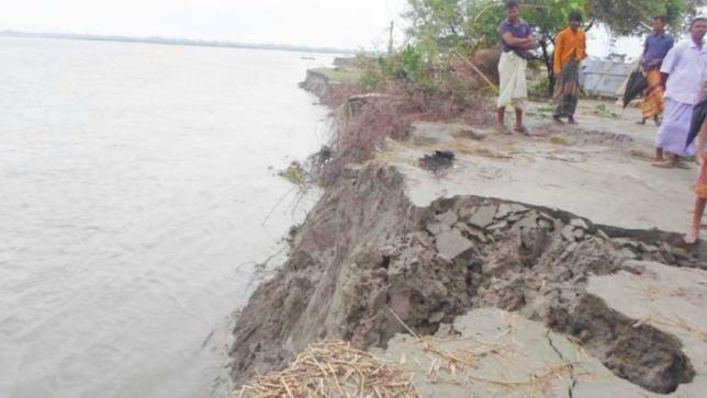 Kapurpura Adversely Affected by Large-scale Erosion