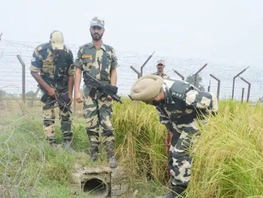 Border Security Force seizes arms and ammunition, Shillong