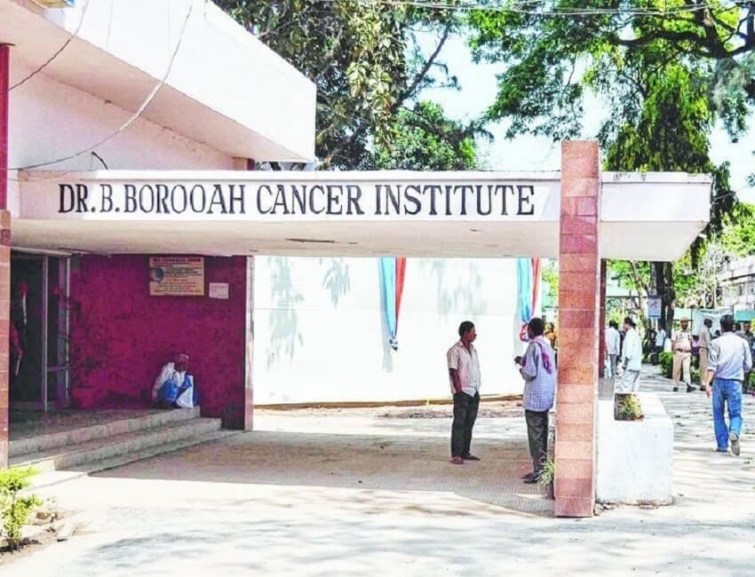 Nurses' training for detection of common cancers underway at Dr B Borooah Cancer Institute (BBCI)