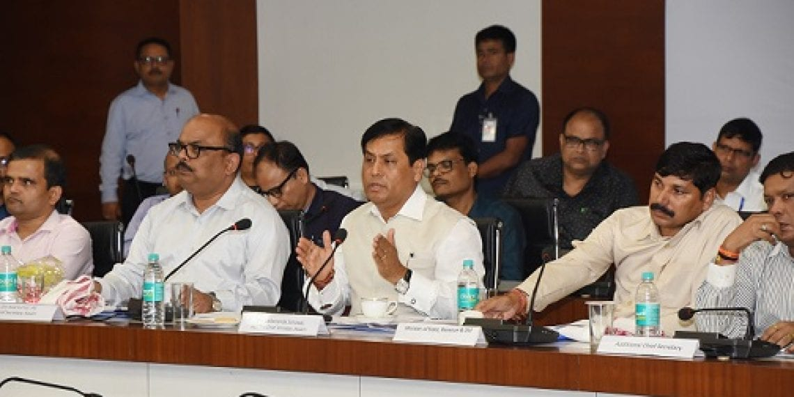 Circle officers must play role for transparency: Chief Minister Sarbananda Sonowal