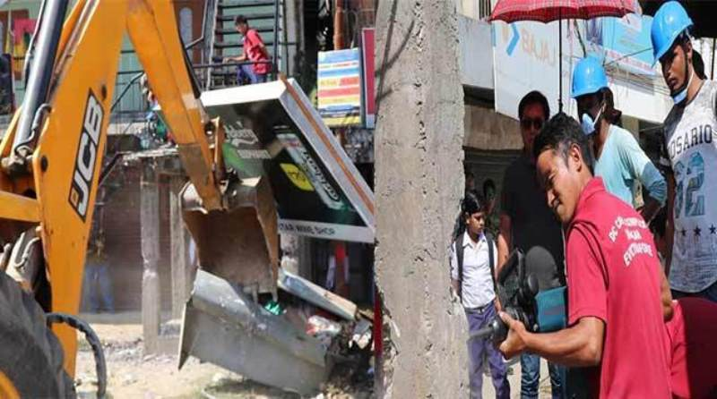 Eviction Drive by Arunachal District Administration Starts