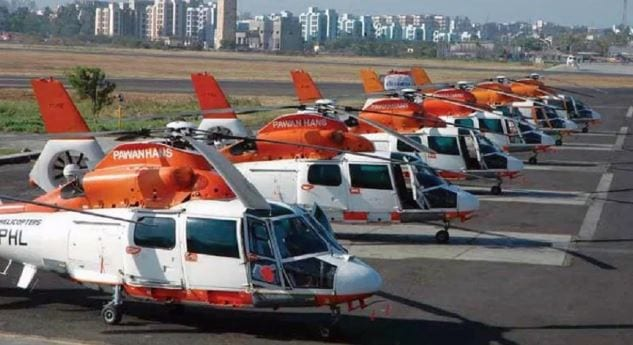 Helicopter service for Durga Puja revellers in Tripura