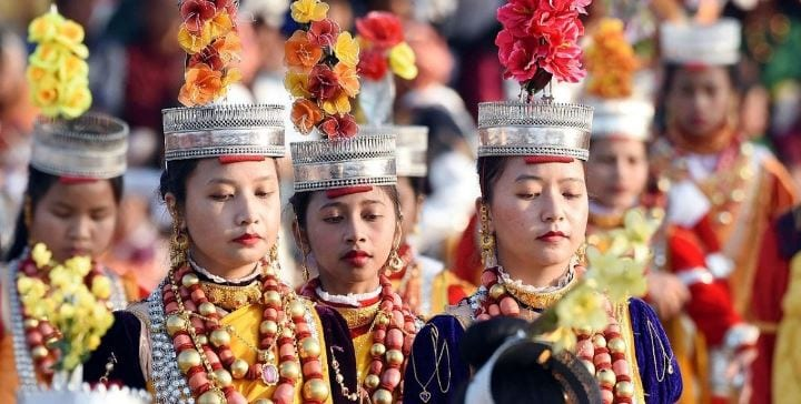 Biannual Khasi Youth Fest at Sacred Heart Theological College, Shillong