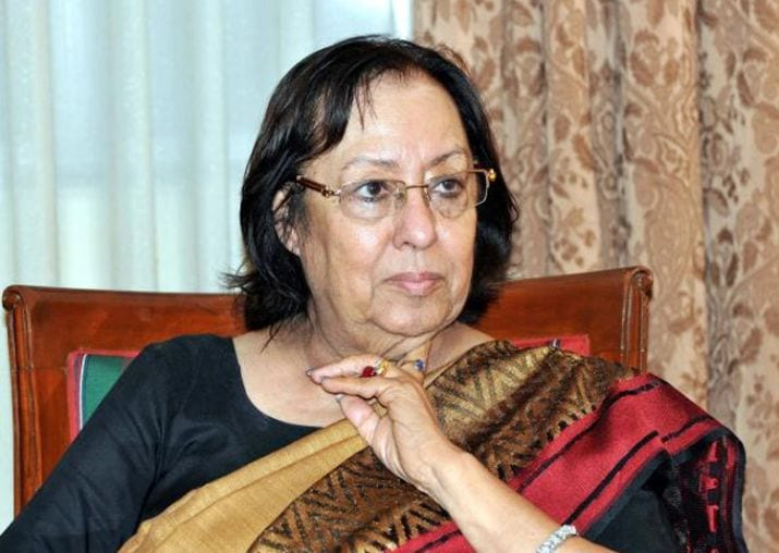 Najma Heptulla Asked to Act and Rule as a Governor, not as a BJP