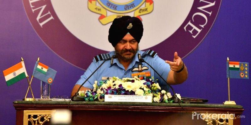 Government Took a Bold Decision, Says IAF Chief