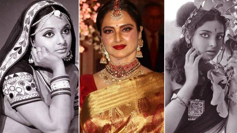Veteran Bollywood actress Rekha turns 65