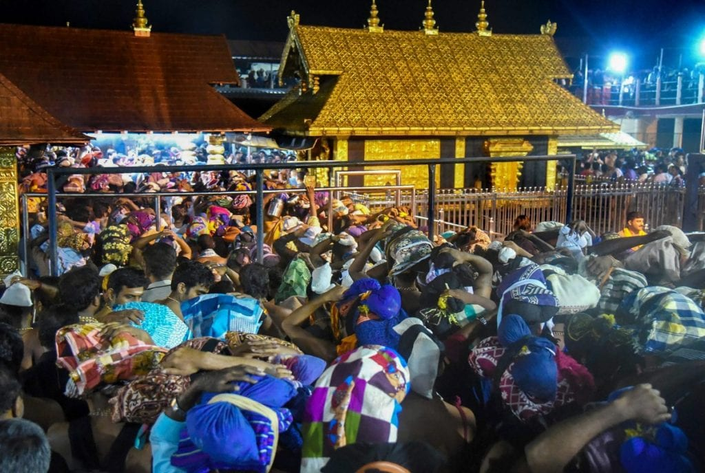 Sabarimala Temple Closes For a Month without allowing Female Devotees inside