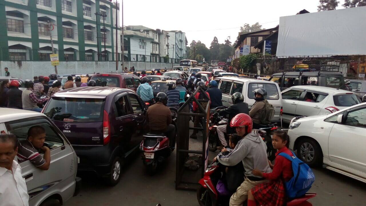 Meet to ease traffic congestion in Shillong