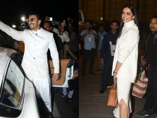 The 'White Couple' Heads for their Destination Wedding! Check out their Airport Look