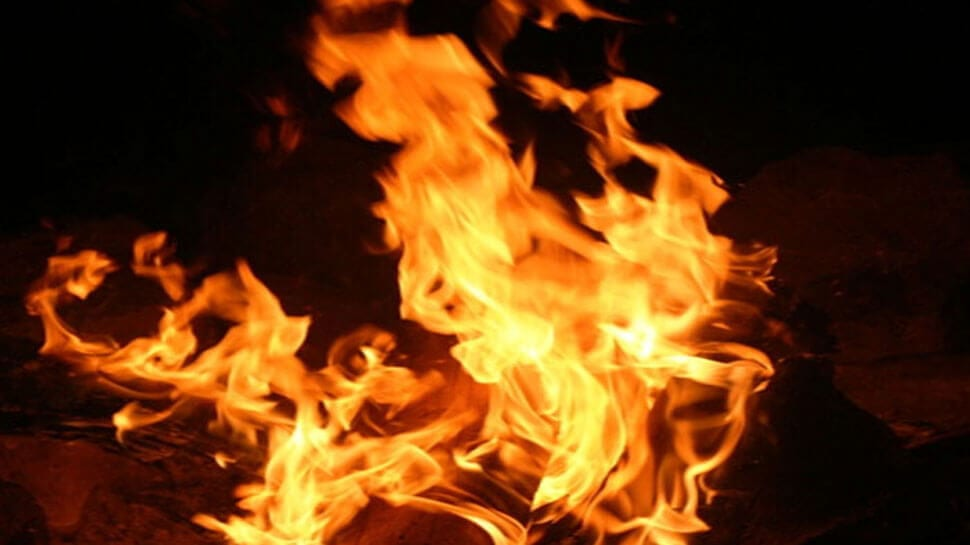 Two houses gutted in fire at Bakrapara in Guwahati