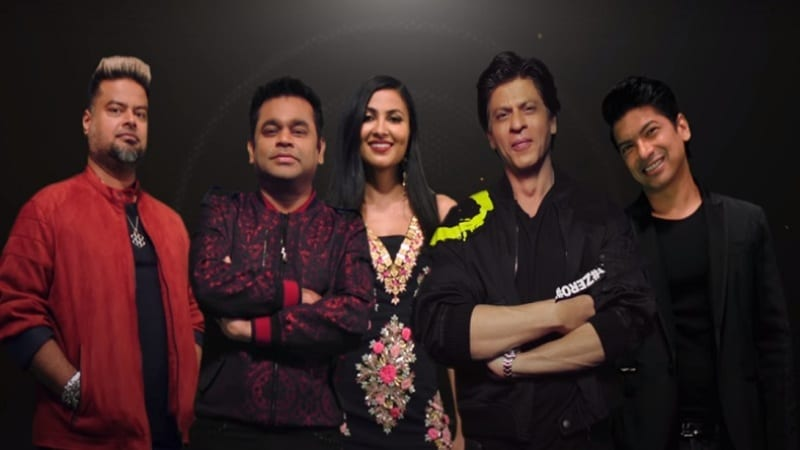 Shah Rukh Khan Joins The First YouTube Original Show ARRived of AR Rahman