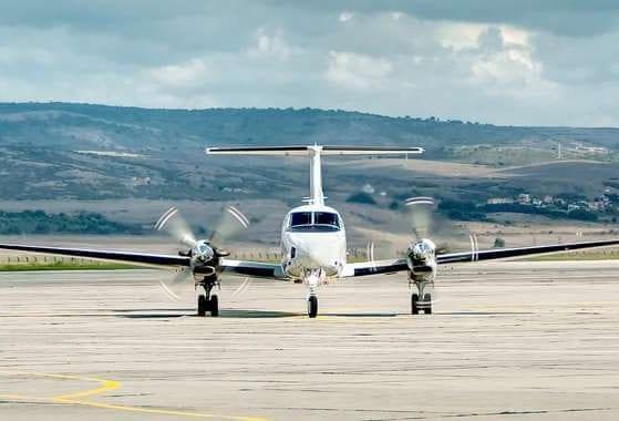 Green field airport