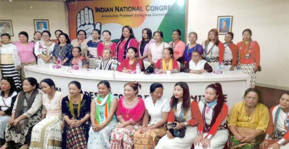 Arunachal Pradesh Mahila Congress Committee (APMCC) campaigning reaches Taawang