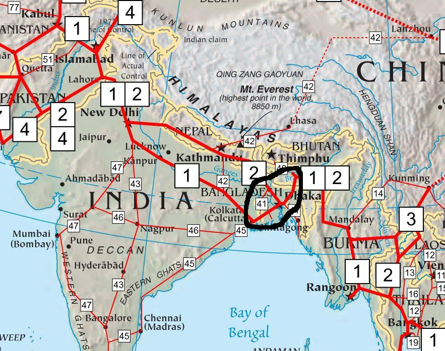 Asian Highway 1, Railway line to Connect Manipur Directly to Southern Asia