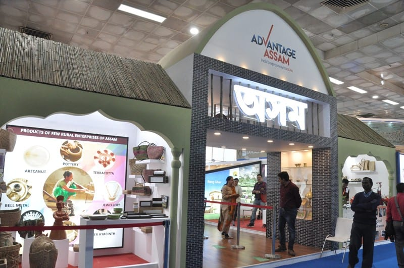 Assam Pavilion in India International Trade Fair (IITF) 2018