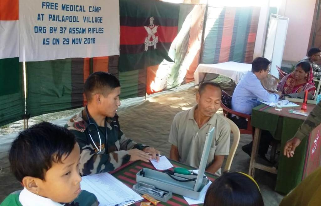 Assam Rifles organizes free medical camp in Silchar