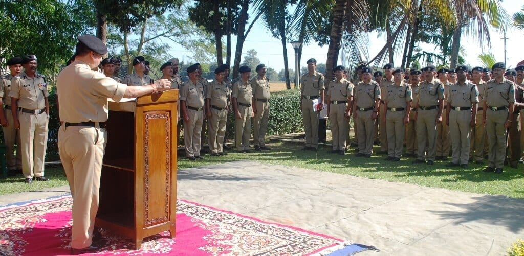 Border Security Force (BSF) observes Constitution Day in a befitting manner in Silchar