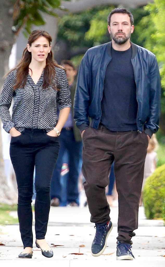 Ben Affleck, Jennifer Garner 'in a Good Place'