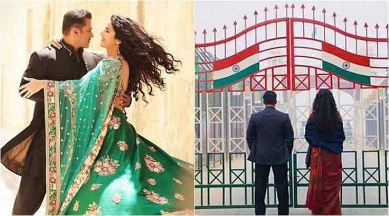 First Look of Bharat Movie: Salman Khan, Katrina Kaif At Wagah Border
