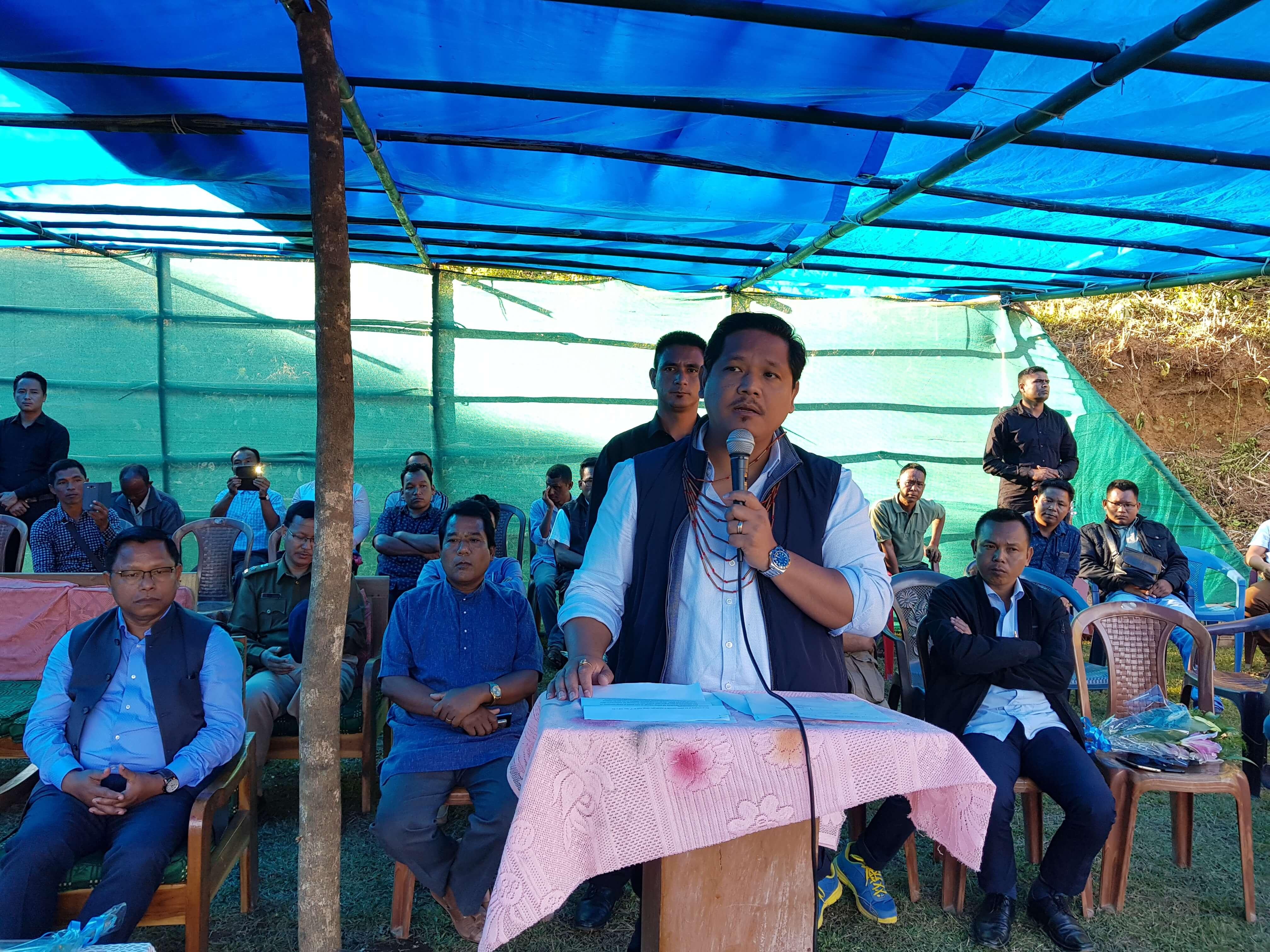 Meghalaya CM Conrad K Sangma assures Development of Nokrek area