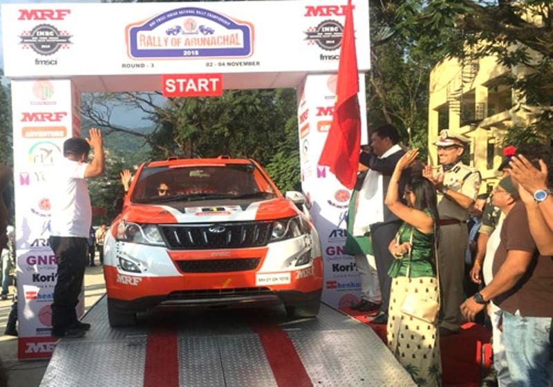 Rally of Arunachal Flagged off by  Chief Minister Pema Khandu