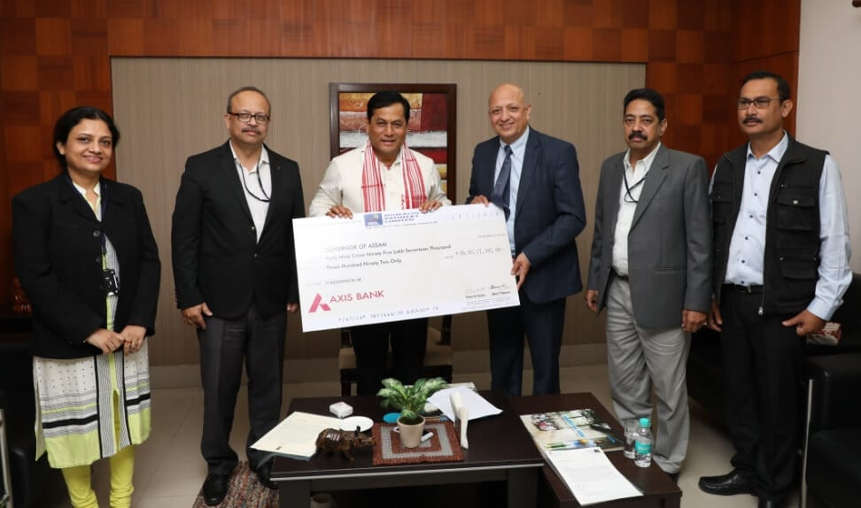 Numaligarh Refinery Limited(NRL) presents Rs. 49.95 crore as dividend for financial year 2018-19