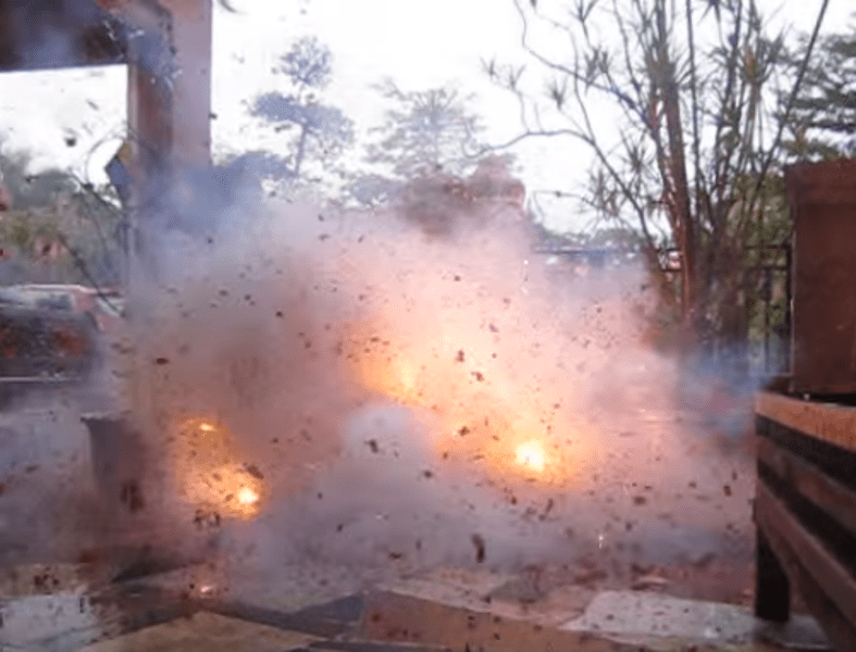 Assam: Nine incidents of fire caused by crackers during Dewali