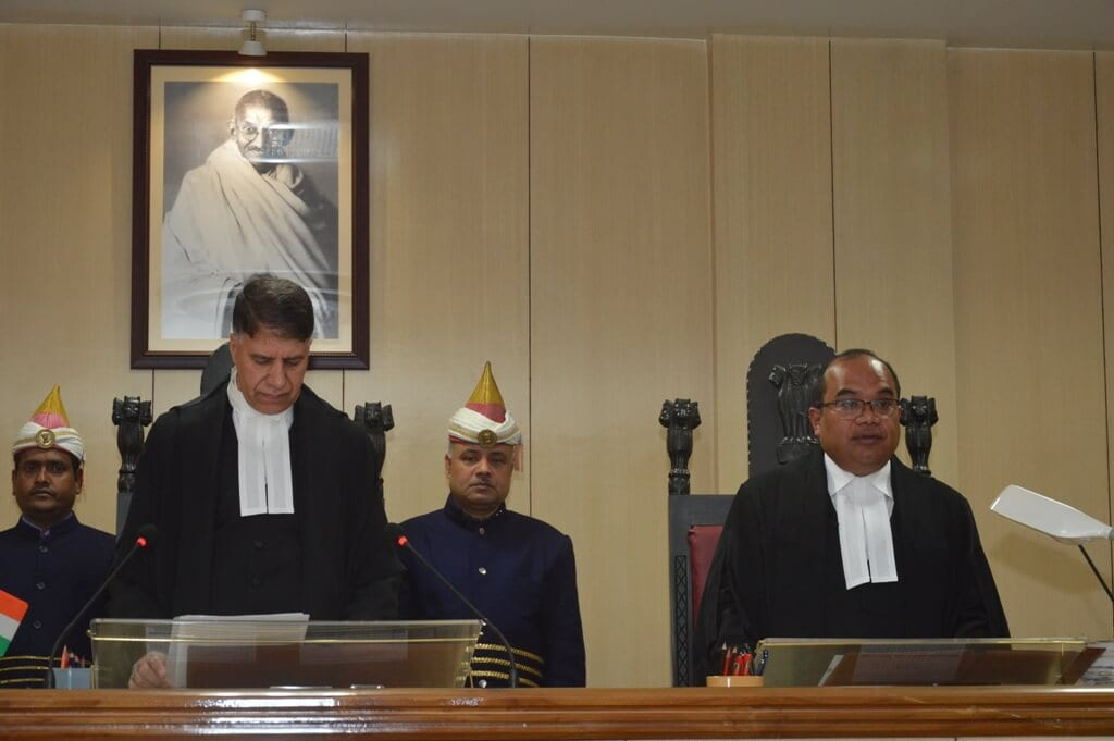 Hamarasan Sing Thangkhiew sworn in as Meghalaya High Court Judge