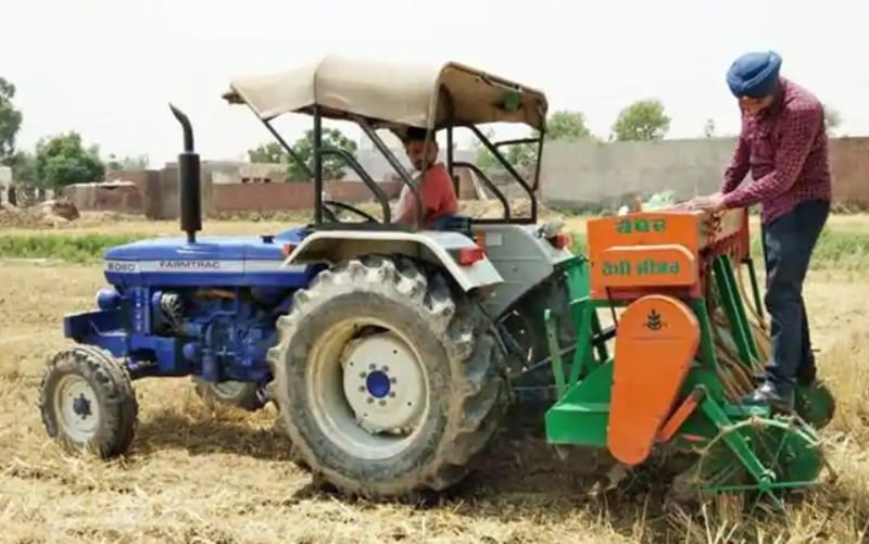 'Stubble Burning can Stop if Farmers are well Convinced of Happy Seeder' Says IPS