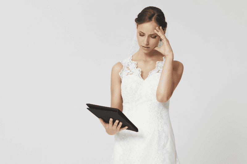Take A Look How to Tackle  Pre-Wedding Blues