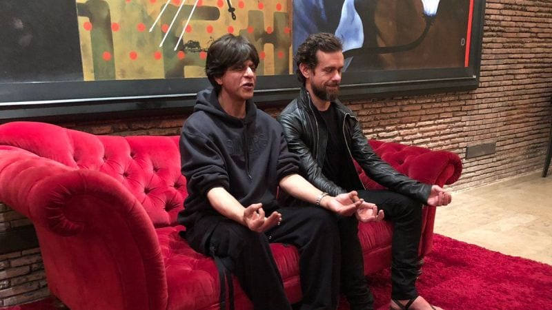 Shah Rukh Khan And Twitter CEO Jack Dorsey Banter On Twitter.