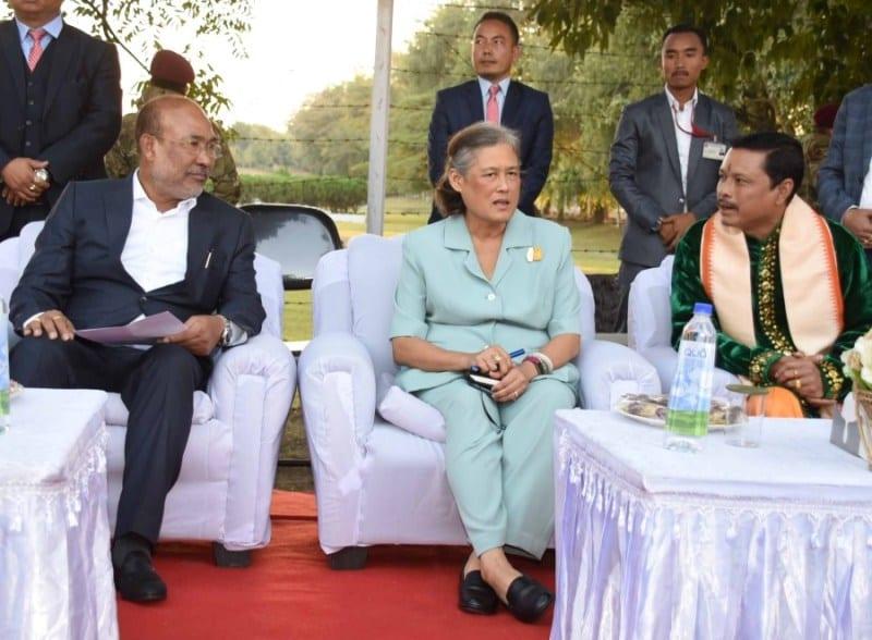 Manipur : Thailand Princess Maha Chakri Sirindhorn Visited Historic Kangla Fort