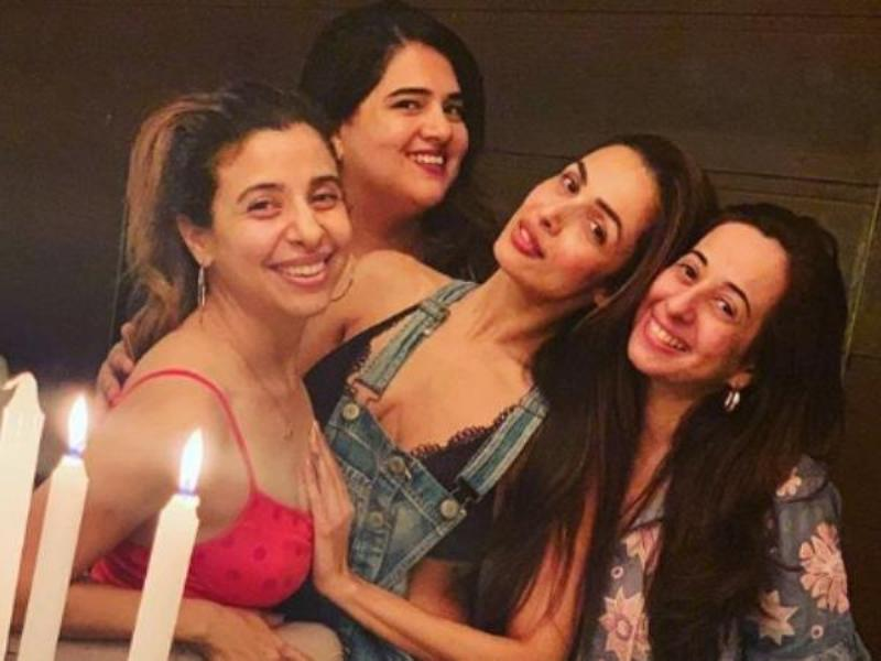 Malaika Arora looks Stunning At Thanksgiving Party With Her Girl Gang