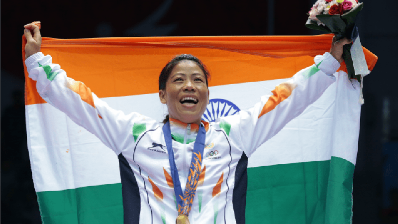 Magnificent Mary: A Journey From Remote Manipur Village To The Queen of The Ring