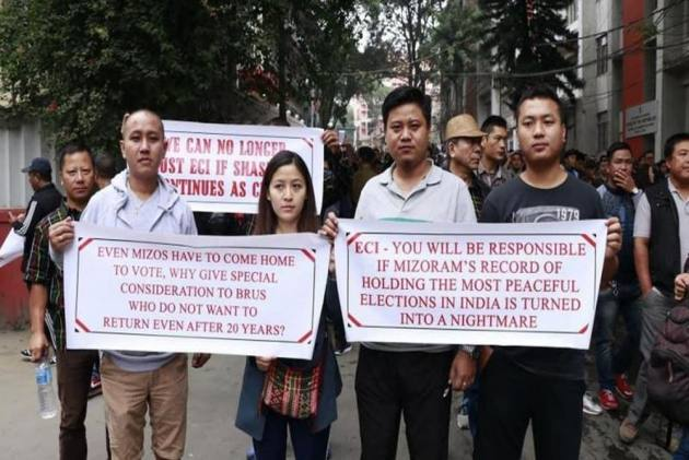 NGOs' protest continues in Mizoram, Election Commission summons Chief Electoral Officer (CEO)